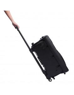 "ISE  Enceinte sono portable Enceinte Karaoké 12""/30 cm 700W à LED RVB SY-14009"