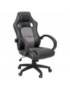 ISE Fauteuil de bureau Chaise de bureau Fauteuil ergonomique - Coloris gris SY-6002GY