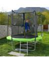 ISE Trampoline extérieur pour enfant 250cm avec filet - Sotchi - SY-1109