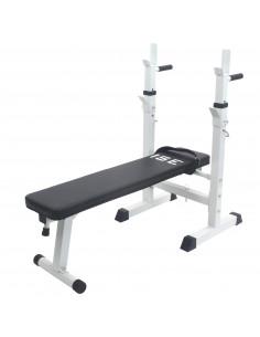 ISE Banc de musculation Pliable et réglable SY-544-WH