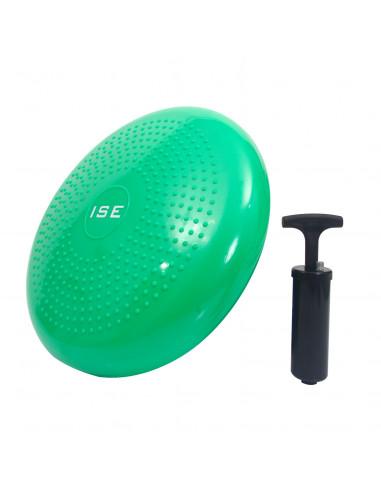 ISE Coussin d'assise Coussin d'équilibre Balle de Fitness Balle d'exercice Coloris vert SY-AP1001