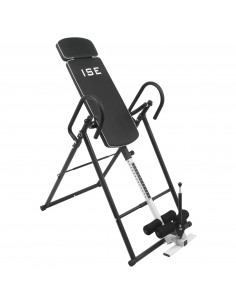 ISE Table d'Inversion 180° Musculation Pliable - SHANGHAI SY-ES1012