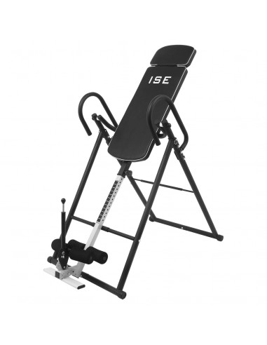 Sy De D'inversion Inversion Table Musculation Max Ise 180° Pliable j35ALR4