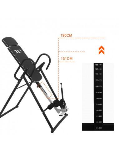 Ise Table D Inversion Musculation Pliable Inversion Max De 180