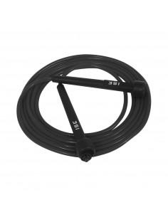 ISE Corde à Sauter Facilement réglable 3 m câble -Entrainement Fitness (Boxe, Musculation, Gym) SY-JP1001BK