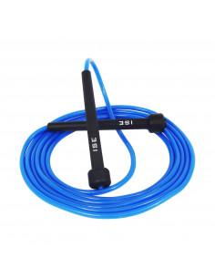 ISE Corde à Sauter Facilement réglable 3 m câble -Entrainement fitness (boxe, musculation, gym) SY-JP1001BL