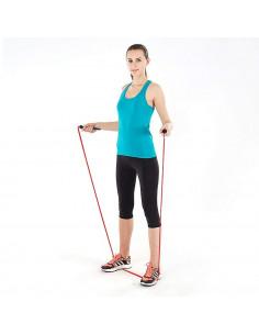 ISE Corde à Sauter Facilement réglable 3 m câble -Entrainement Fitness (Boxe, Musculation, Gym) SY-JP1001RE