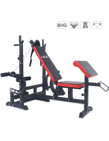 ISE Banc de musculation multifonction - Kyoto / SY-536