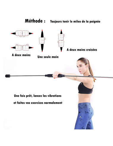swing barre tige oscillante baton d exercices
