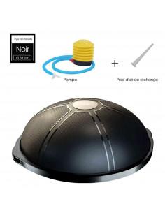 ISE ballon d'équilibre bosu Ø 64 cm - Pompeï SY-BAS1002 (Noir)