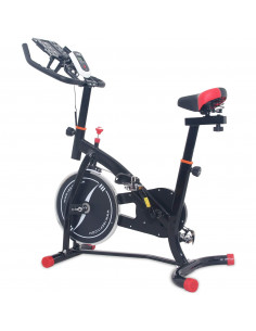 ISE - Vélo d'appartement Biking - Noir - Hawkins SY-7804S-BK