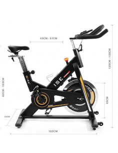 ISE Vélo Biking d'appartement Cardio Bike Indoor SY7910