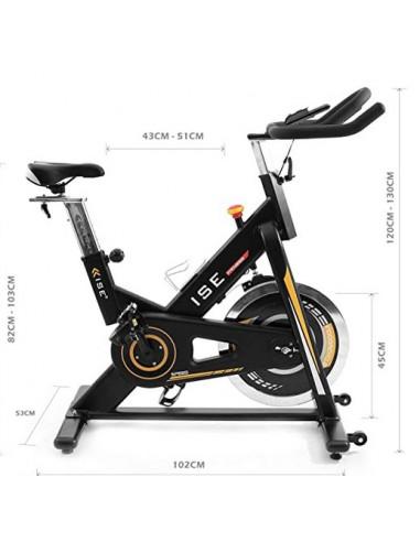 ISE Vélo Biking d'appartement Cardio Bike Indoor SY7910