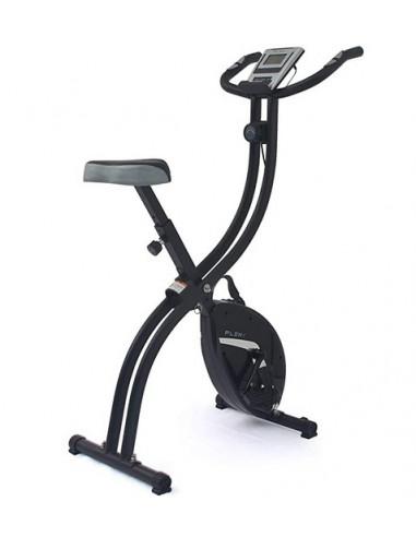 ISE Vélo d'appartement Fitness Pliable écran LCD Entraînement Cardio SY-7006