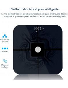 ISE Pèse Personne Impédancemètre, Balance Connecté Bluetooth CS20C1