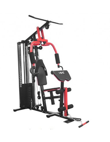 ISE Appareil de Musculation Station/Home Gym Complet avec Contrepoids 65KG / 11 Pièces SY-410