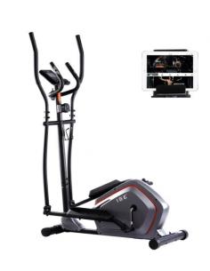 ISE Vélo elliptique magnétique - Vélo d'appartement Crosstrainer / SY-9906