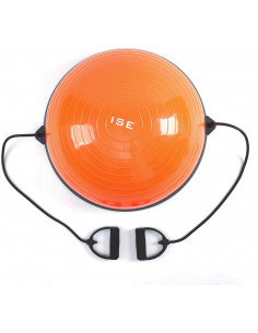 ISE Balance Trainer Ball avec Câbles de Resistance / MILANO-SY-BAS1001-OR