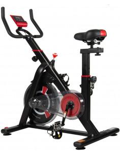 ISE Vélo d'appartement - Vélo spinning pour entraînement de fitness à la maison - SY-7021
