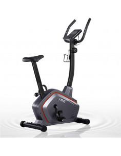 ISE Vélo d'Appartement Magnétique  Silencieux Fitness avec Ordinateur LCD/Capteurs d'impulsion/Selle Réglable