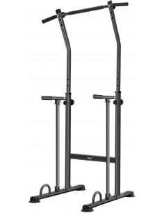 ISE Power Tower Tour de Musculation, Barre de Traction Ajustable, Hauteur réglable, Multifonctions Chaise Romaine / SY-5613