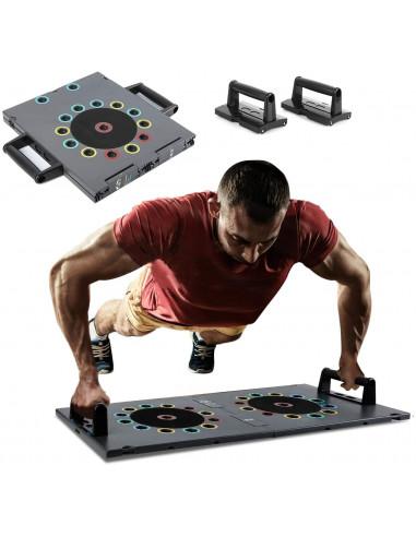 ISE 14 in 1 Push Up Board Musculation,  Planche Pompes entraînement de Fitness à Domicile, SY-MG007