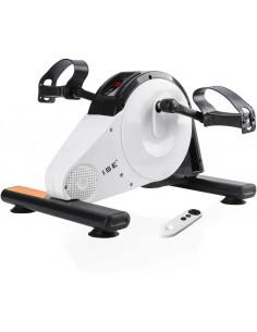 ISE Mini Vélo d'Appartement Pédalier Pliable Résistance Réglable Ecran LCD avec télécommande / SY-8117