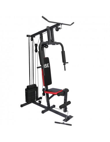 ISE Station de musculation multifonction avec poids - Athènes SY-4002