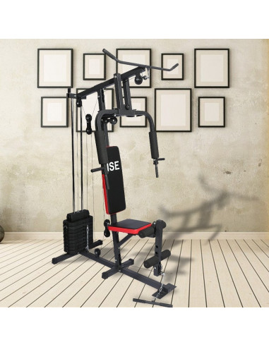 ise station de musculation appareil de musculation fitness. Black Bedroom Furniture Sets. Home Design Ideas