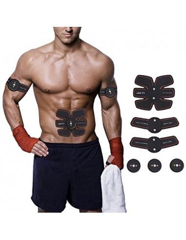 ISE Smart Appareil Abdominaux Musculation Electrostimulateur Sans Fil SY-8005