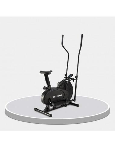 ISE Vélo elliptique avec siège Noir /...