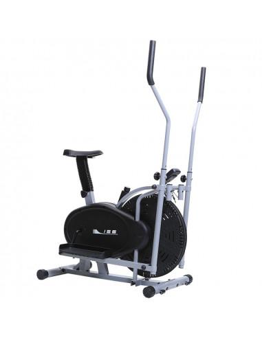 ISE Vélo d'appartement et vélo elliptique Vélo 2 en 1 avec siège SY-9001-1