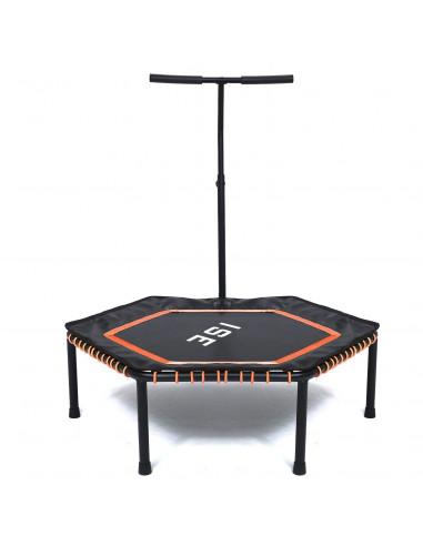 ISE Trampoline de Fitness (orange) -...