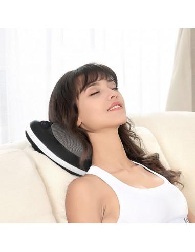 ISE Coussin de Massage Coussin Massant Shiatsu Chauffant SY-8003